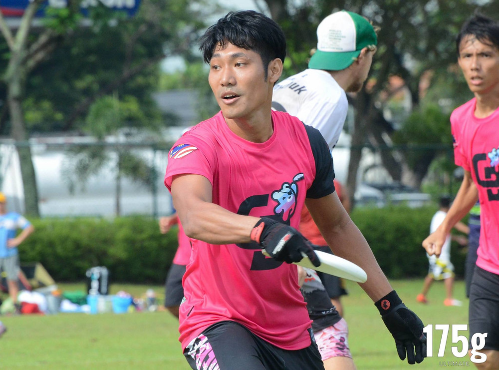 Kevin Tan back on the field after his ACL recovery. Image credit: 175g