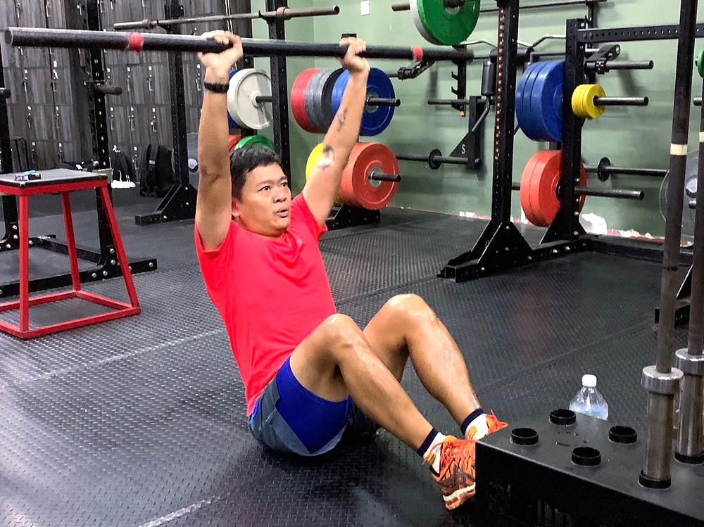 Calvin manages his own business and it can get quite hectic, but with the right goals he is always motivated to workout.