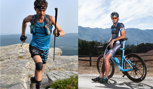 Scott Jurek (left) and Rich Roll (right) are living legends in the world of ultra, who follow a strictly plant-based diet.