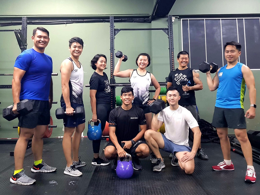 Meet our BMT-02 group who are always motivated to work out despite any obstacles.