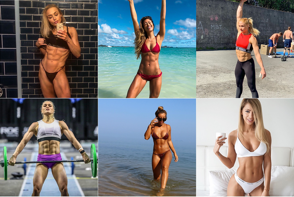 How badly do you want abs like these? Photo credit: @jessicagretsy, @karinaelle, @kaliburns, @katrintanja, @anniethorisdottir, @yanitayancheva