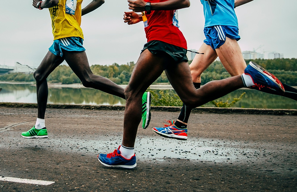 The paper suggested that Kenyan runners had slightly longer and lighter legs compared to Scandinavian runners.
