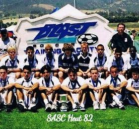 Cal Heat Soccer Club Boys 82