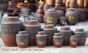 Chum Sành Trống Đồng Đông Sơn Âu Lạc - Gốm Sứ Kim Lan Hà Nội