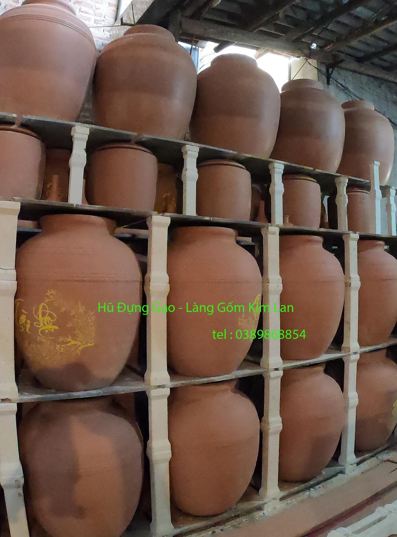 Xưởng sản xuất hũ đựng gạo