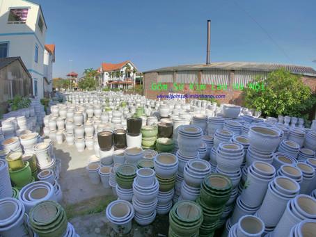 Xưởng Chậu Cây Cảnh Và Những Điều Cần Biết Khi Mua Sỉ Chậu Cây Cảnh Tại Gốm Sứ Kim Lan Hà Nội