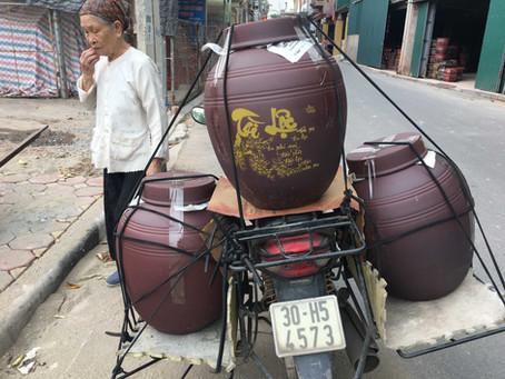 Review 25 xưởng sản xuất chum ngâm rượu nổi tiếng nhất làng gốm Kim Lan Hà nội