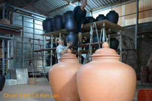 Các Công Đoạn Sản Xuất Chum Sành Giả Cổ Kim Lan Hà Nội