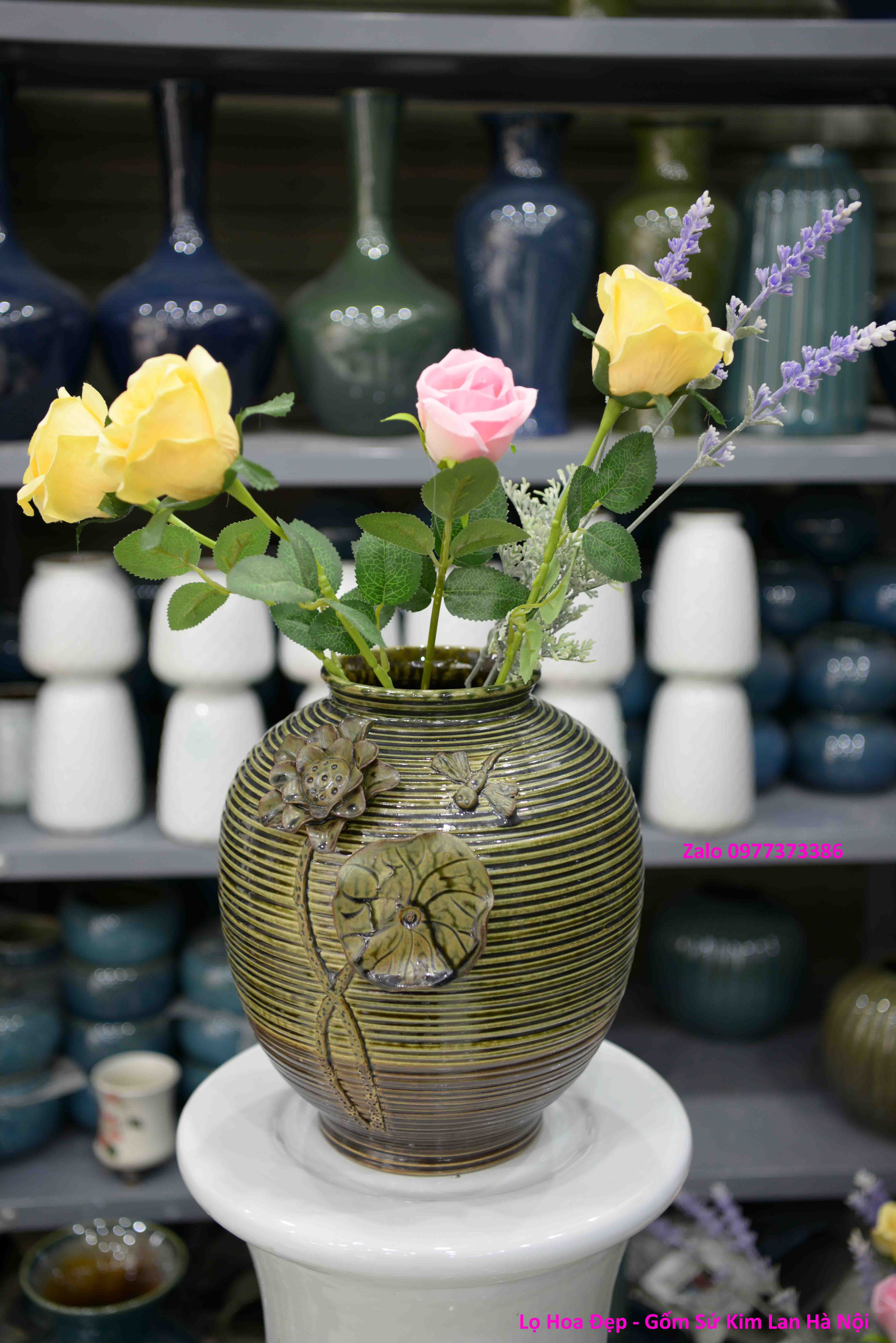 Hoa Hoa Đắp Nổi