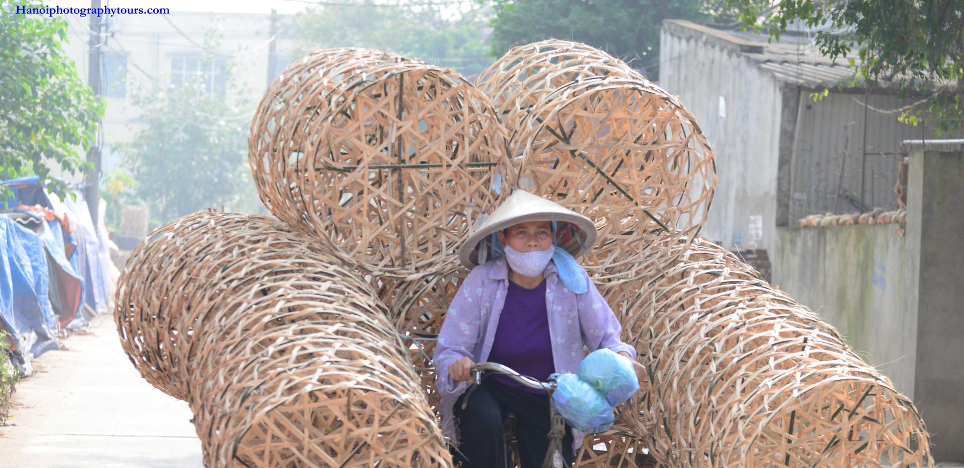 phụ nữ làng gốm kim lan