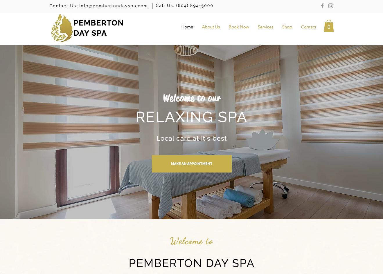 Pemberton Day Spa