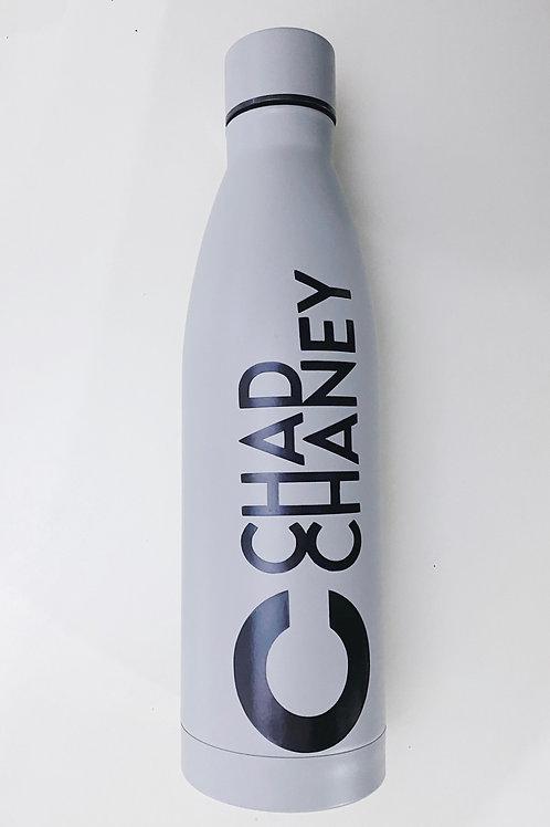 Chad Chaney logo Water Bottle