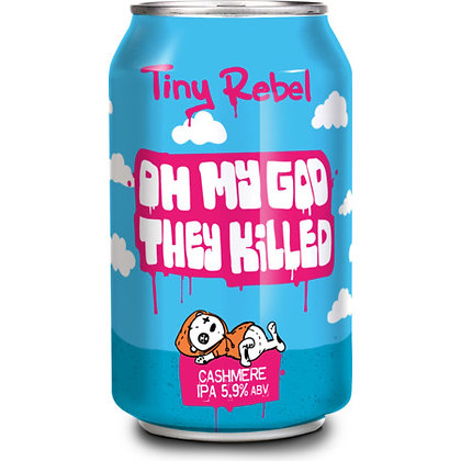 TINY REBEL - OH MY GOD THE KILLED CASHMERE