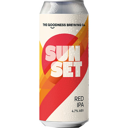 GOODNESS BREW CO - SUNSET RED IPA