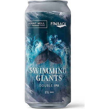 BURNT MILL X FINBACK - SWIMMING WITH GIANTS