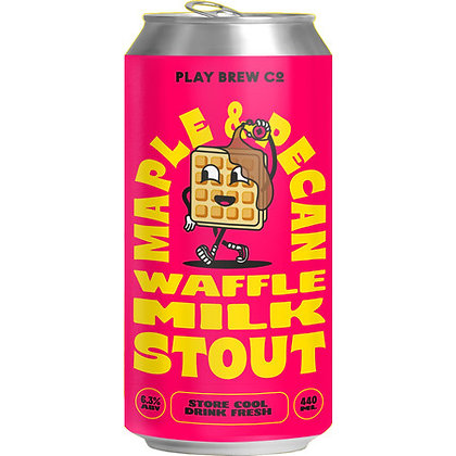 PLAY BREW CO - WAFFLE MILL STOUT