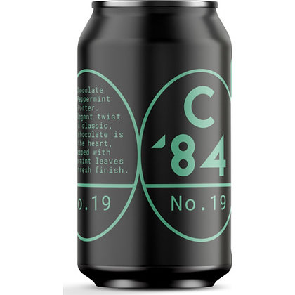 C84 - CHOCOLATE & PEPPERMINT STOUT
