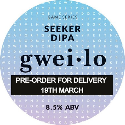 GWEI.LO - SEEKER DIPA 8.5% 2 PINT