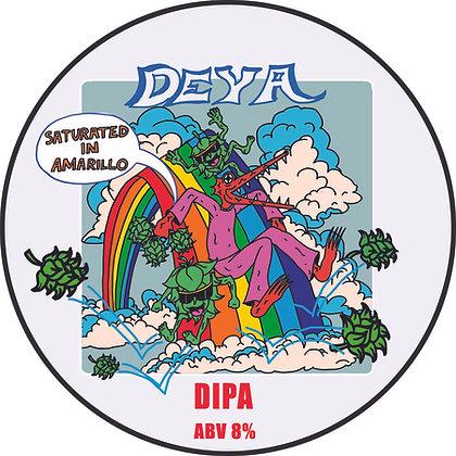 deya - saturated in amarillo DIPA 8%