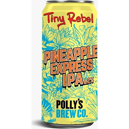 TINY REBEL X POLLYS BREW - PINEAPPLE EXPRESS
