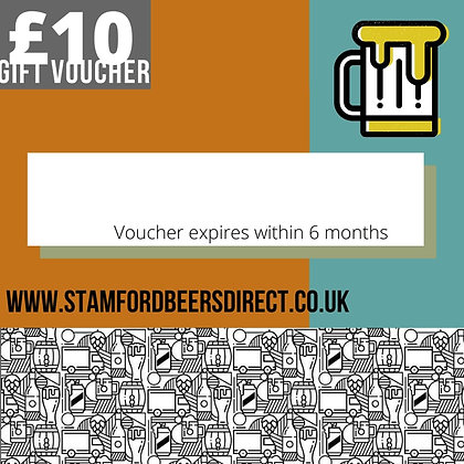 SBD £10 or 25 GIFT VOUCHER