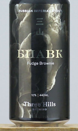 THREE HILLS - BPAVK FUDGE BROWNIE IMPY STOUT