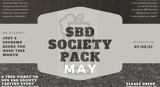 STAMFORD BEERS DIRECT MONTHLY SOCIETY 6 PACK - MAY