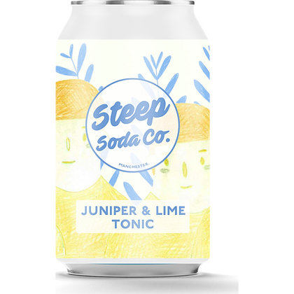 STEEP SODA COMPANY - PICK YOUR FLAVOUR IN CART