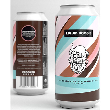 CROOKED BREWING - LIQUID BOOGIE