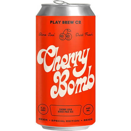 PLAY BREW CO - CHERRY BOMB