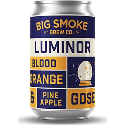BIG SMOKE - LUMINOR BLOOD ORANGE AND PINEAPPLE GOSE