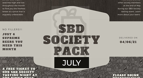 STAMFORD BEERS DIRECT MONTHLY SOCIETY 6 PACK