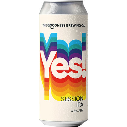 GOODNESS BREW CO - YES! IPA