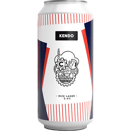 CROOKED BREWING - KENDO RICE LAGER