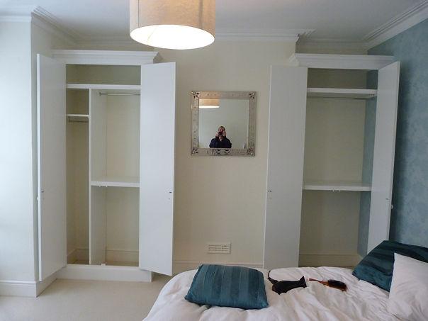 interior shelving in wardrobes