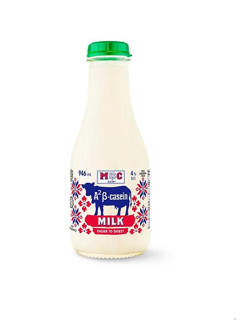 A² β-Casein Milk 4%mf 946ml