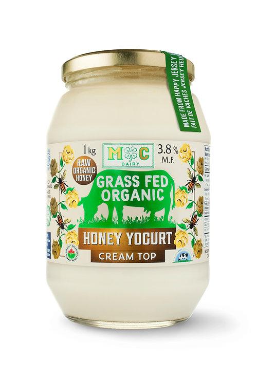 Grass Fed Organic Raw Honey Yogurt 1Kg