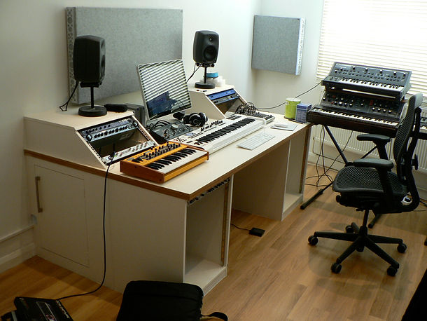 bespoke studio work station
