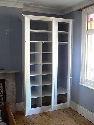 shelving - interior of wardrobe
