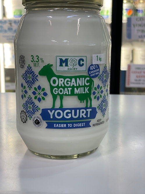 Organic Goat Milk Yogurt 1kg