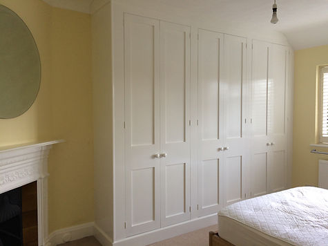 built-in 6 door wardrobe