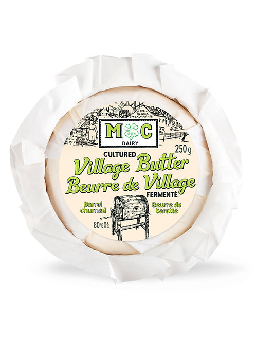 Cultured (7 day fermented) Village Butter