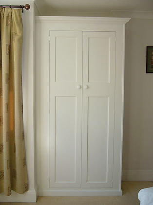 built-in 1930's style 2 door wardrobe