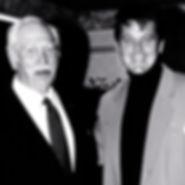 With friend Howard Keel B and w.jpg