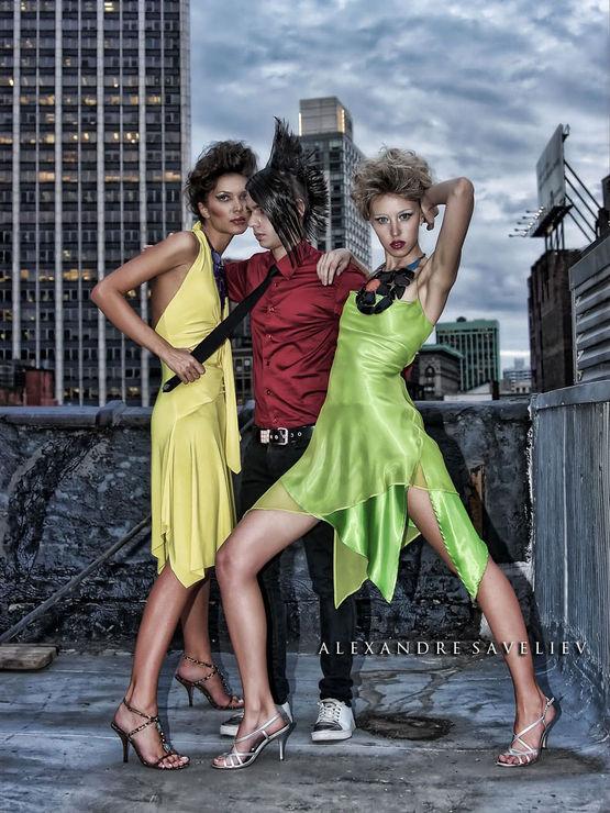 Agency Model Photo Shoot
