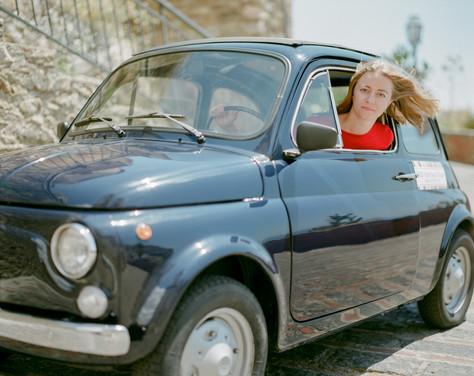500 Vintage tour - Taormina