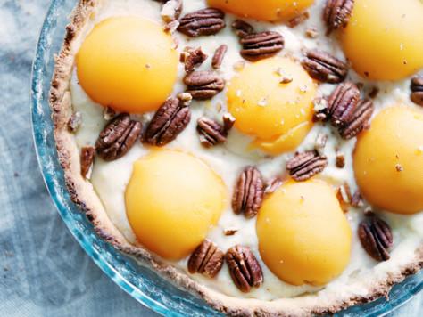 Воскресный тарт с абрикосами