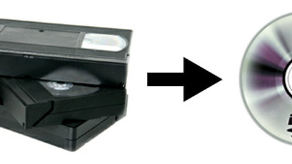 Convertir VHS y VHS-C a DVD