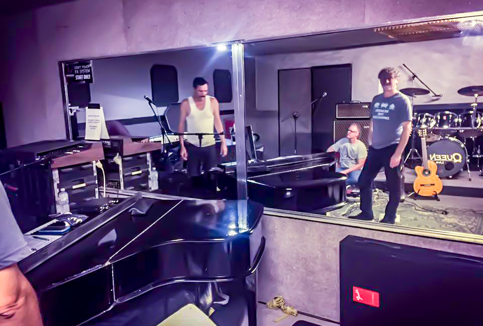 Bohemian Rhapsody rehearsal in Sydney