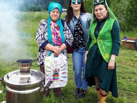 """Мы в Сарапуле. Отмечаем национальный праздник татарского народа- """"Сабантуй"""""""